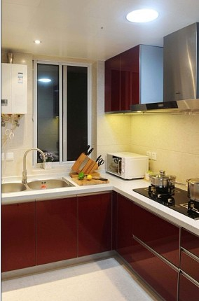 精选小户型厨房简约设计效果图
