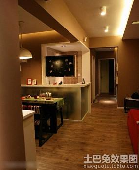 现代家装小户型室内走道装修图片