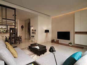 精美复式客厅简约装修效果图片