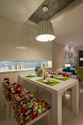 精选面积75平小户型餐厅简约装修设计效果图片大全