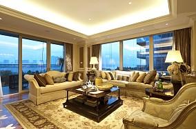 欧式风格别墅豪华客厅装修效果图