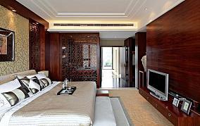 面积83平小户型卧室简约装饰图片欣赏