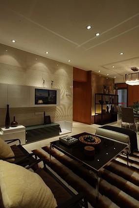 2018精选二居客厅现代装修设计效果图