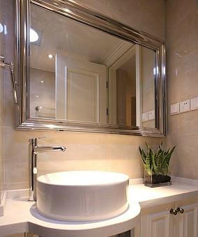 热门面积76平小户型卫生间简欧装修欣赏图片