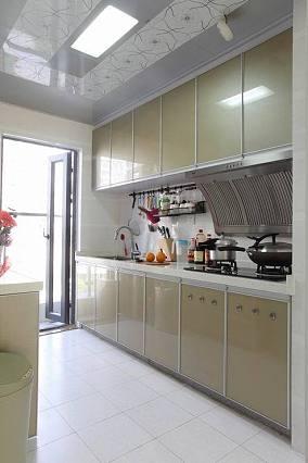 2018面积84平简约二居厨房装饰图片大全