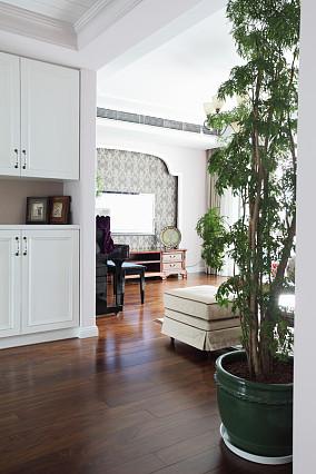 2018面积74平美式二居玄关装修设计效果图