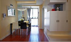 热门90平米现代小户型餐厅装修实景图片