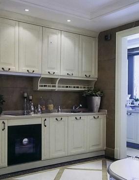 现代美式风格厨房设计图