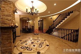 东南亚风格别墅室内地板砖装修图片
