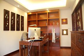 精美面积85平小户型书房中式欣赏图片大全