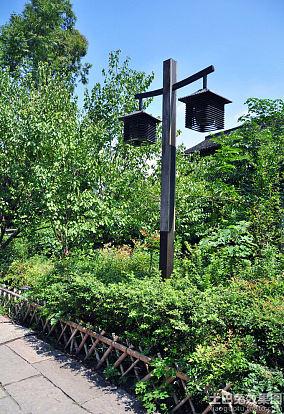 创意公园路灯图片