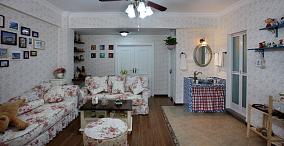 田园风格客厅装修效果图片欣赏大全