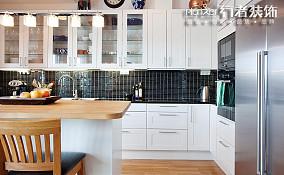 北欧混搭厨房装修效果图