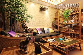 东南亚风格客厅装修效果图片欣赏