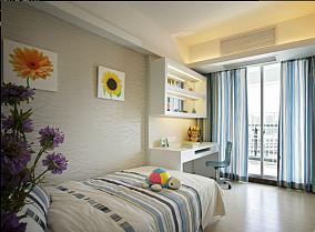 精选面积70平小户型儿童房简约装修设计效果图片