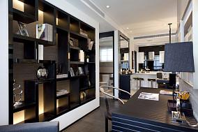 热门面积72平小户型书房现代装饰图