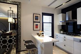 76平米现代小户型厨房装修图片欣赏