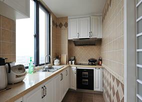 热门83平米欧式小户型厨房装修设计效果图片欣赏