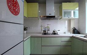 热门面积78平小户型厨房现代装修欣赏图片大全