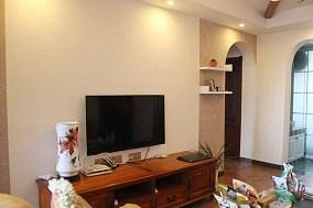 86平米美式小户型休闲区装饰图片欣赏