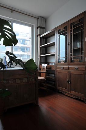 2018精选90平米中式小户型书房装修效果图片欣赏