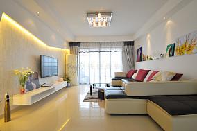 精选面积83平简约二居客厅装修设计效果图片