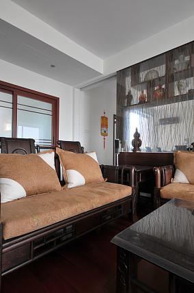 热门74平米二居休闲区中式实景图片大全