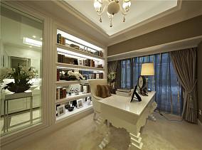 精选72平米欧式小户型书房效果图片大全