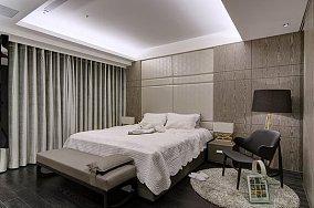 精美面积100平现代三居卧室装饰图