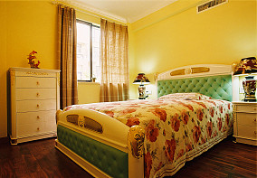 精美面积78平小户型卧室东南亚装修欣赏图片大全