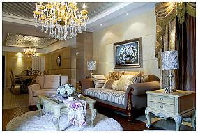 热门101平方三居客厅欧式实景图片欣赏
