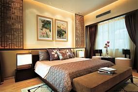 201897平米三居卧室中式装修设计效果图