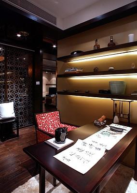 中式风格书房设计效果图欣赏大全