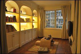 日式风格书房设计效果图欣赏