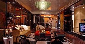 中式风格客厅装修效果图欣赏大全2014图片