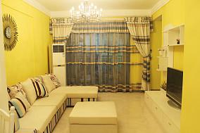 81平米东南亚小户型客厅欣赏图