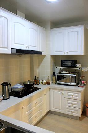 2018精选面积78平小户型厨房欧式装修效果图片