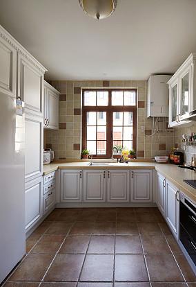 热门小户型厨房欧式装修设计效果图
