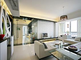 面积78平小户型休闲区简约装修设计效果图片欣赏