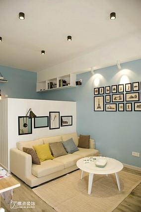 2018精选90平米简约小户型客厅装修效果图片