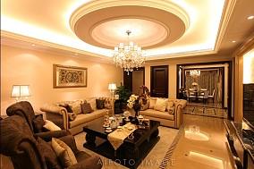 精美欧式二居客厅欣赏图片大全