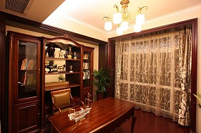 精美小户型书房欧式实景图片