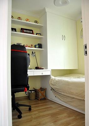 精美面积78平简约二居书房实景图片欣赏