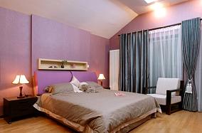 热门77平方二居卧室现代装修实景图片大全