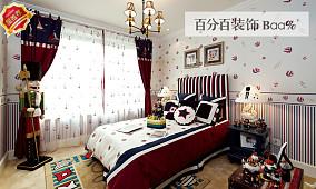 地中海一居卧室装修图
