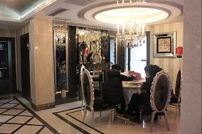 现代新古典风格餐厅吊顶效果图欣赏大全
