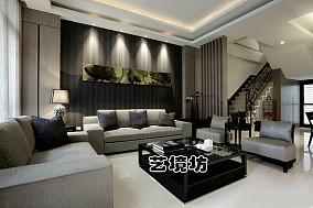 日式别墅客厅实景图片