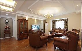 热门80平米二居客厅欧式装修实景图片