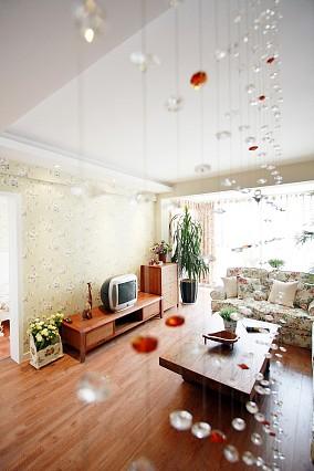 83平米田园小户型休闲区欣赏图