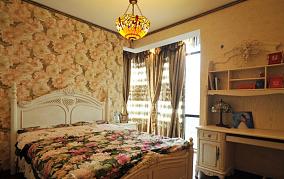 精美大小101平欧式三居卧室效果图片大全